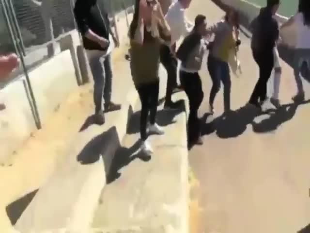 Массовая драка родителей на детском футбольном матче в Испании