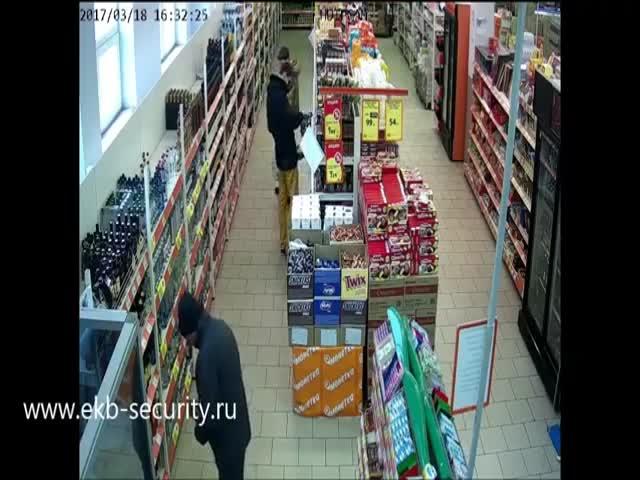 Неудачная кража в супермаркете Екатеринбурга