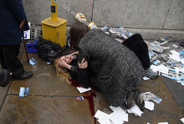 Стрельба у здания Британского парламента в центре Лондона