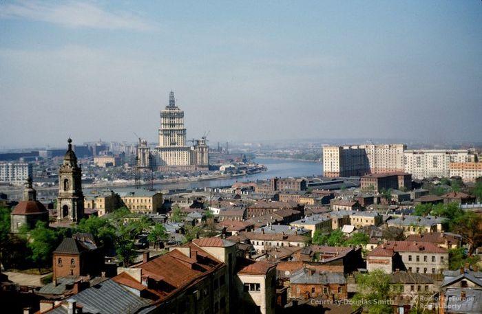 Москва начала 1950-х на фото Мартина Манхоффа (36 фото)