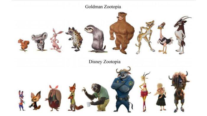 Сценарист фильма «Вспомнить все» Гэри Голдман обвиняет Disney в краже «Зверополиса» (2 фото)