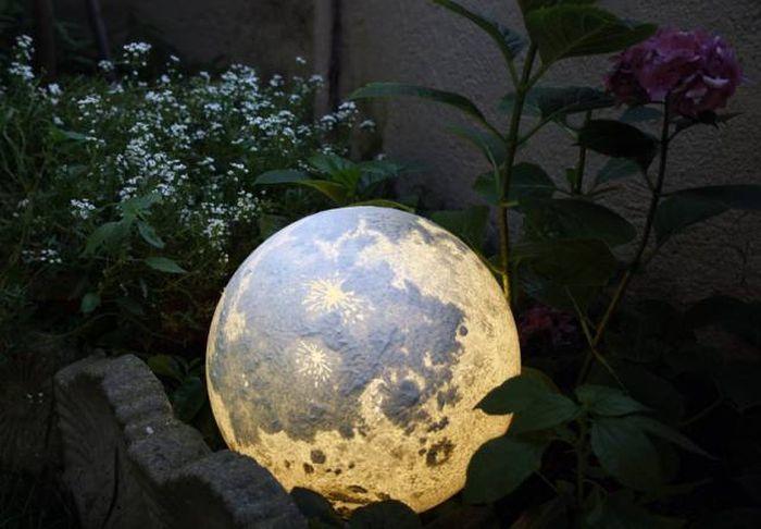 Ночные лампы в виде планет (11 фото)