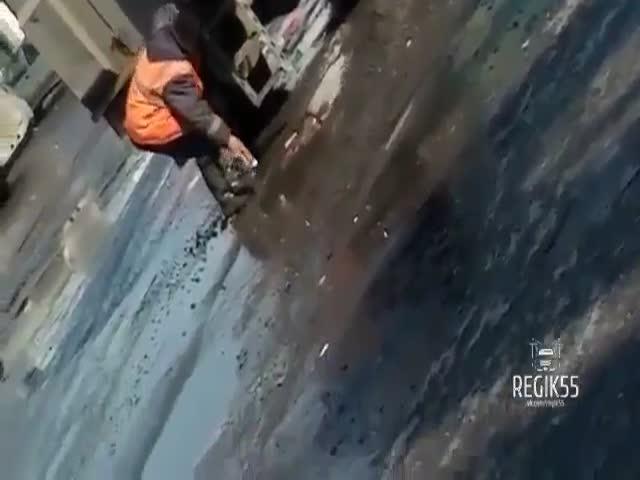 Ямочный ремонт в Омске
