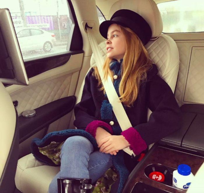 Красивая жизнь 11-летней внебрачной дочери теннисиста Марата Сафина Евы (10 фото)