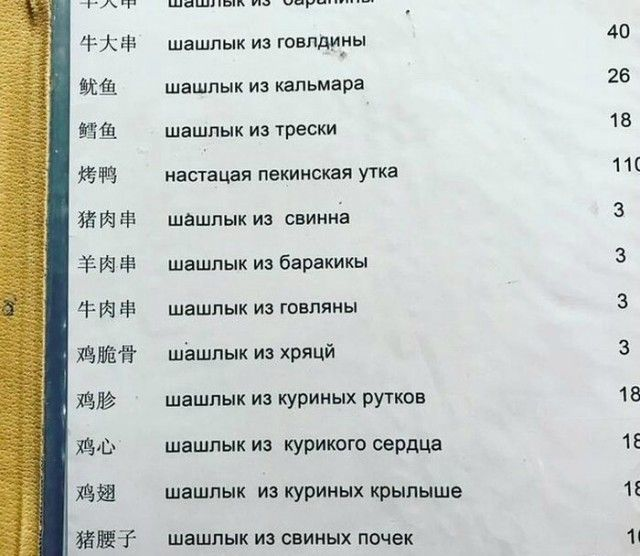 Нелепый перевод (20 фото)