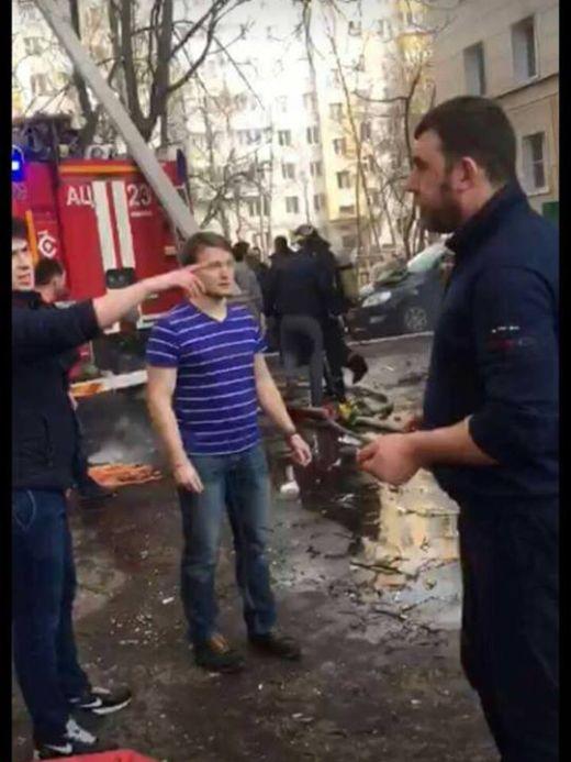 На пожаре в Москве чеченец Анзор Чантиев спас 7 человек (2 фото + видео)