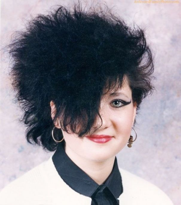 Зарубежная мода на безумные детские прически из 80-х и 90-х (38 фото)