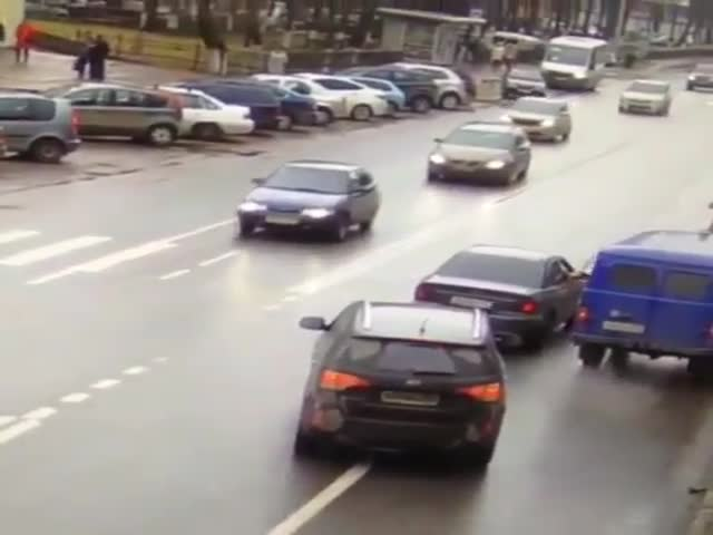 Дорожный конфликт в Раменском