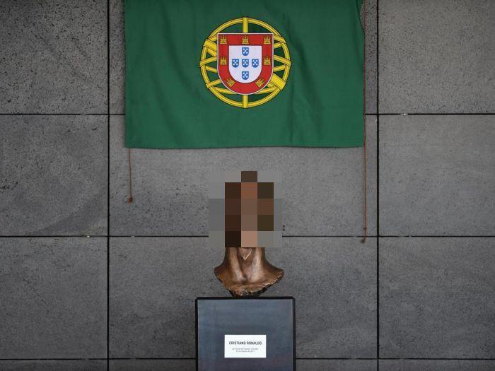 Аэропорт острова Мадейра переименовали в честь Криштиану Роналду (3 фото)