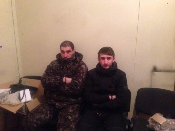 В ХМАО задержали грабителей отделения банка (7 фото)