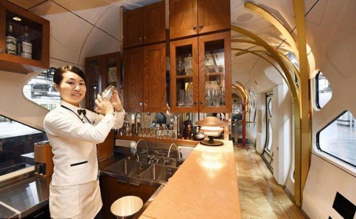 Shiki-Shima - экскурсионно-круизный поезд класса люкс (12 фото)