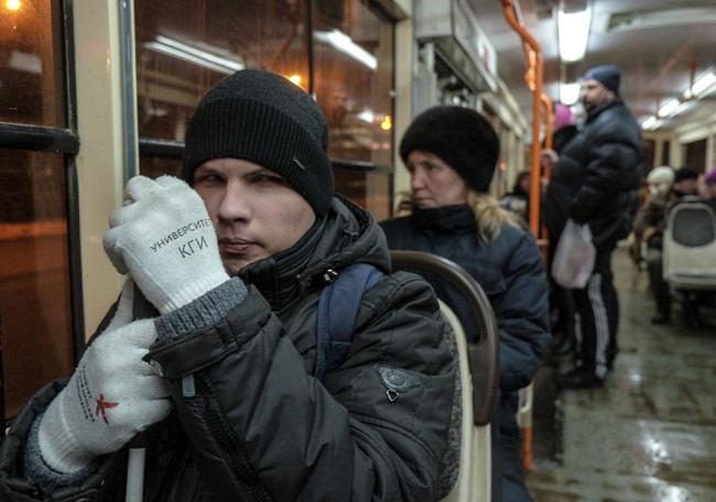 Незрячий студент прервал выступление губернатора Самарской области Николая Меркушкина