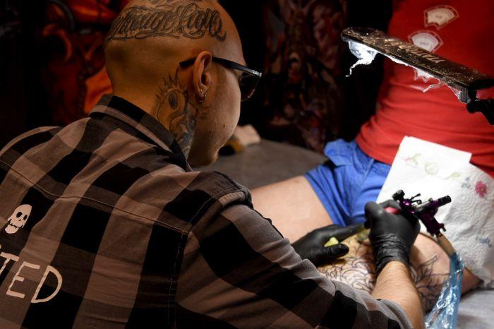Московский фестиваль татуировки (30 фото)