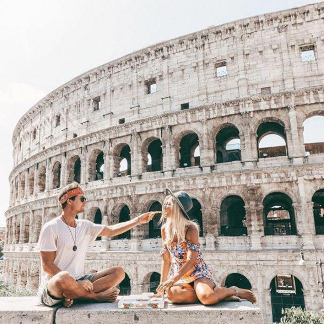 Пара звезд Instagram, зарабатывающая на жизнь путешествиями (16 фото)
