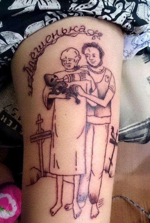 Странные татуировки пользователей сети (21 фото)