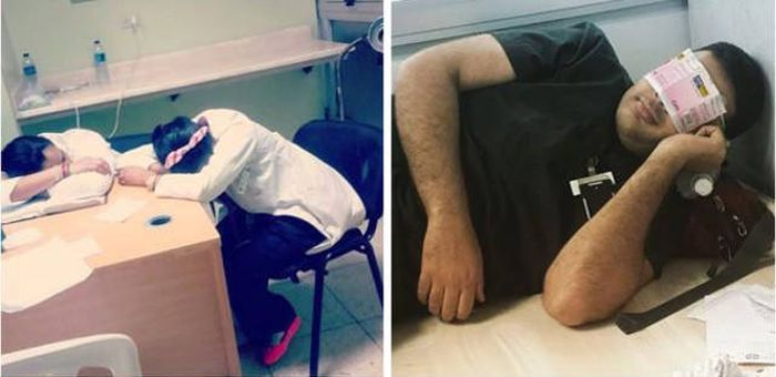 Doctors From All Around The World Defend Young Medical Resident (49 pics)