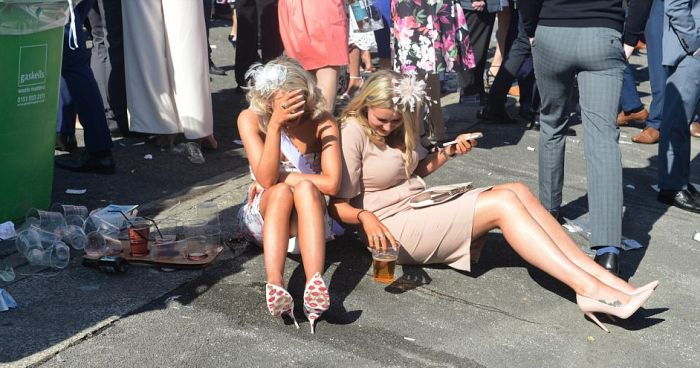 В Великобритании прошел «День леди» (31 фото)