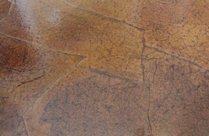 Роскошный пол из бумаги (7 фото)