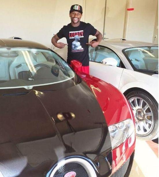 Боксер Флойд Мейвезер продает свой гиперкар Bugatti Grand Sport Vitesse (3 фото)