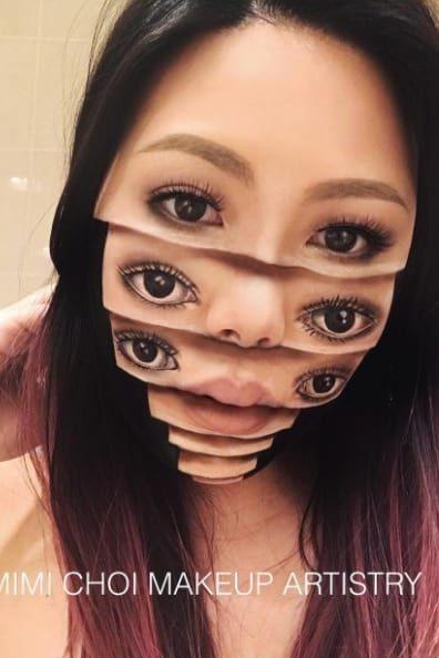 Жуткий грим от канадского визажиста Мими Чой (14 фото)