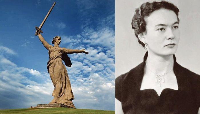 Валентина Изотова - женщина, ставшая натурщицей скульптуры «Родина-мать» (2 фото)