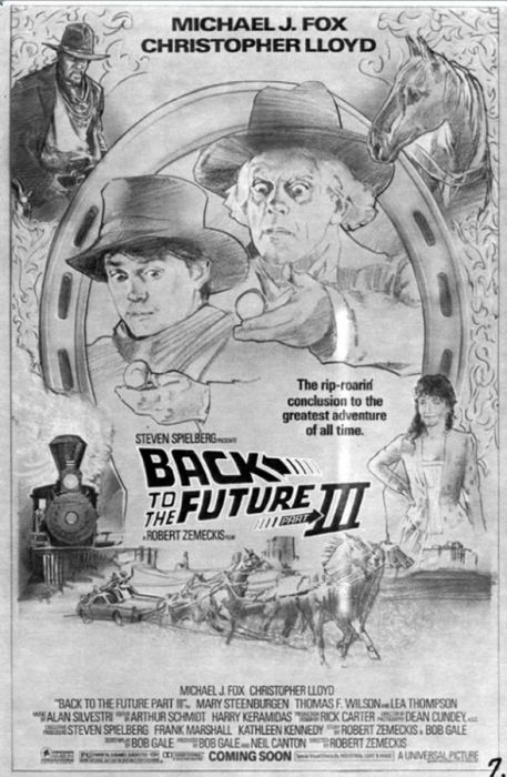 Как создавали постер к фильму «Назад в будущее» (41 фото)