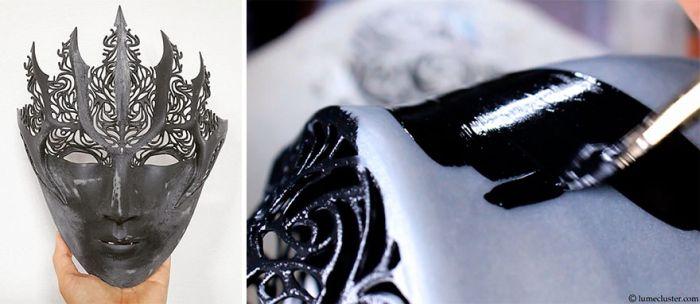 Крутые доспехи, напечатанные на 3D-принтере (17 фото + видео)