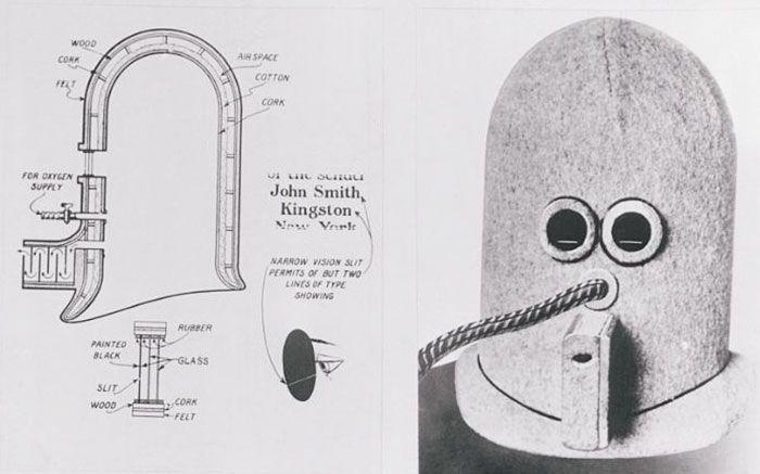 Антиотвлекающий шлем образца 1925 года (5 фото)