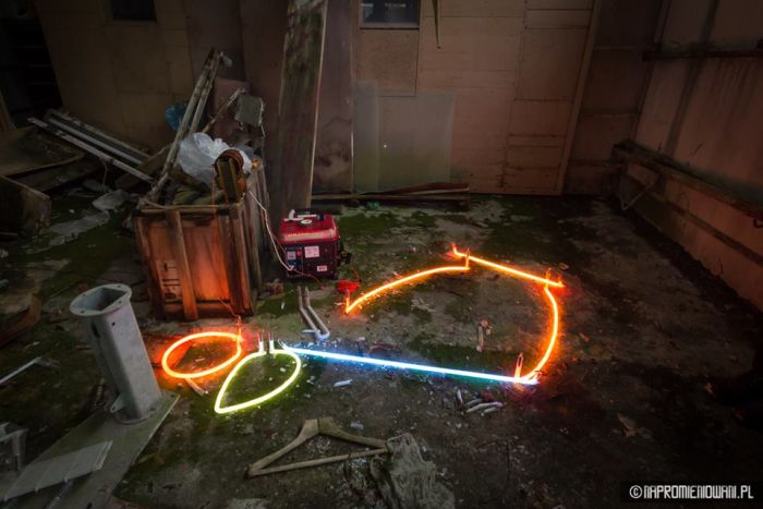 В Припяти вновь зажгли свет (32 фото)
