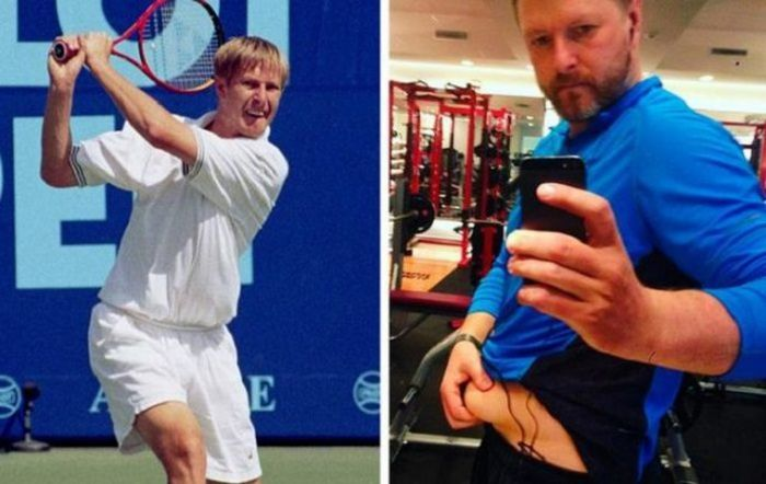 Бывшие спортсмены, потерявшие свою форму (10 фото)