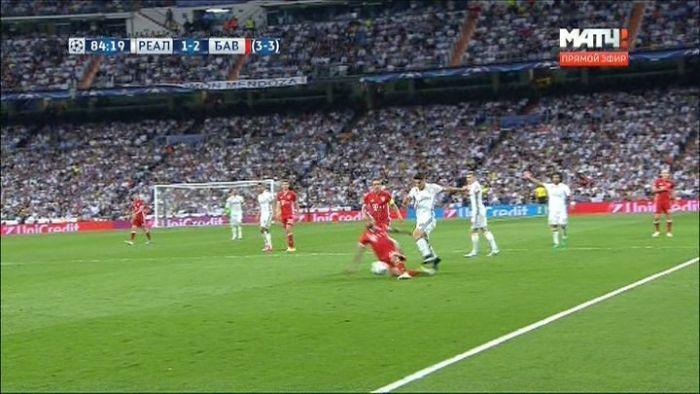 Матч Лиги чемпионов «Реал Мадрид» - «Бавария» закончился скандалом из-за спорного судейства (16 фото + текст)