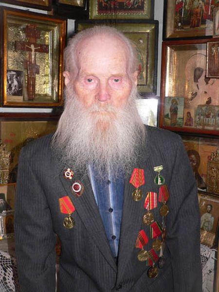 Один из старейших ветеранов Великой Отечественной войны схимонах Кукша умер в возрасте 104 лет (2 фото)