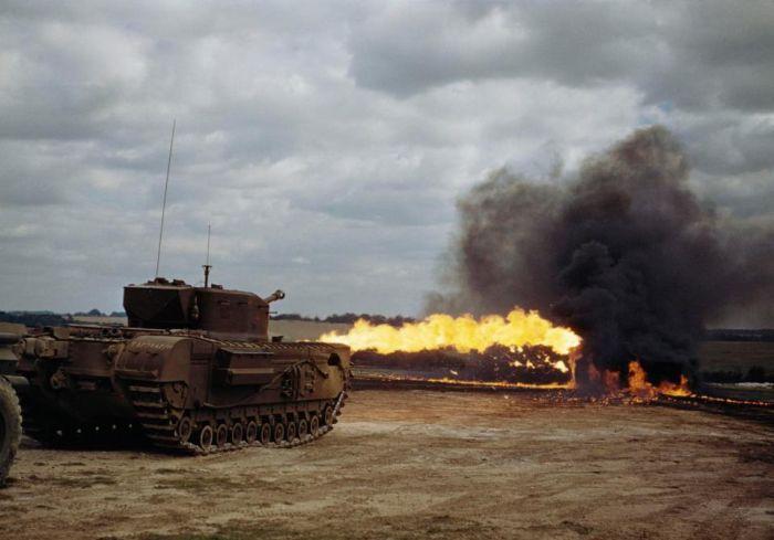 Редкие цветные фото Второй мировой войны (23 фото)