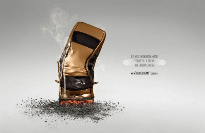 Креативная реклама, которую нельзя не запомнить (32 фото)