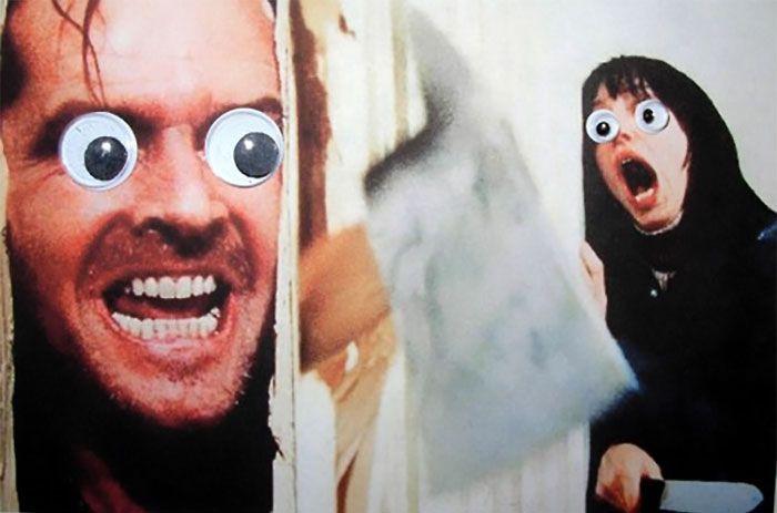 Веселые эксперименты с глазами Googly Eyes (38 фото)