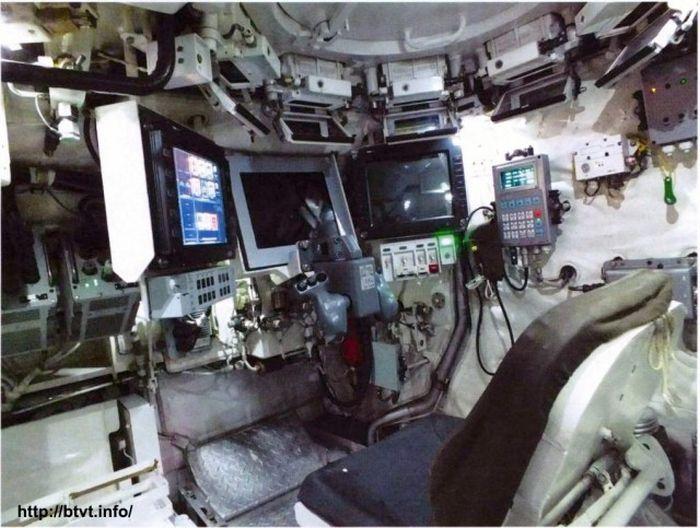 Танк Т-14 «Армата» и БМП Т–15: вид изнутри (14 фото)