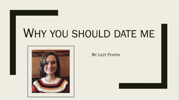 Девушка попыталась привлечь внимание парня с помощью презентации (4 фото)