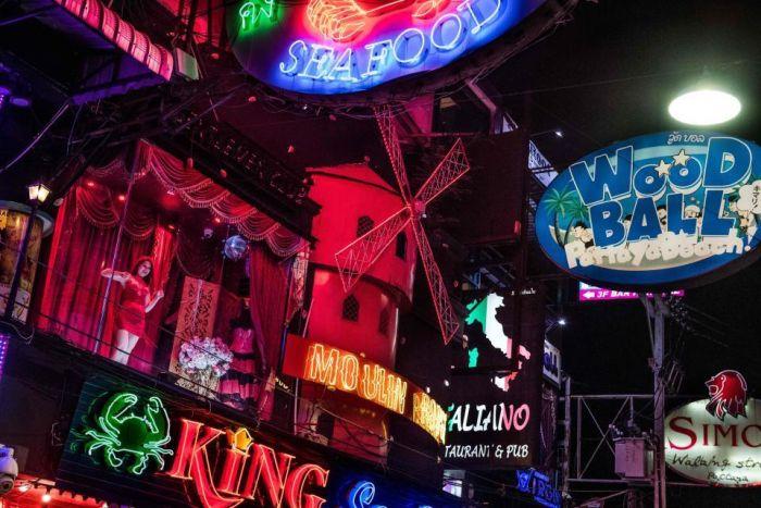 Район красных фонарей тайского города Паттайя (21 фото)