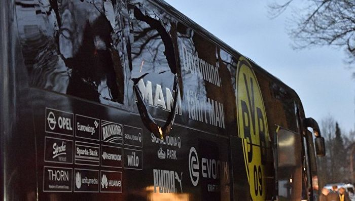 В Германии по подозрению в нападении на ФК «Боруссия» задержан россиянин (2 фото)