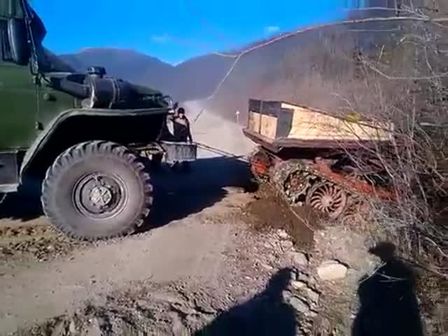 Неудачная попытка помощи на дороге