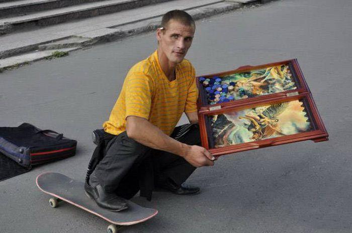 Фото, которые возможно было сделать только в России. Часть 67 (40 фото)