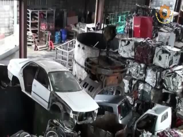 Утилизация автомобилей в Японии