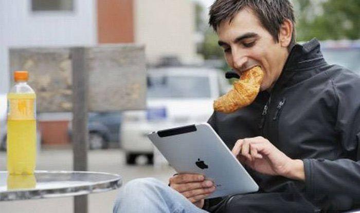 Смартфоны и другие гаджеты в современном обществе (46 фото)