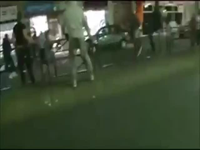 Задержание мародеров в Париже