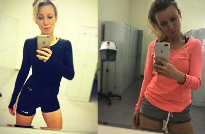 Западные СМИ считают представителя МИД России Марию Захарову мировым секс-символом (12 фото)