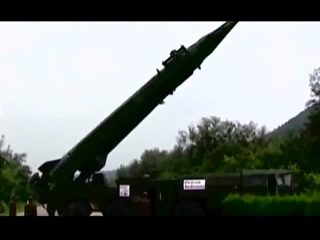 Северная Корея вновь опубликовала видео с ракетным удара по США