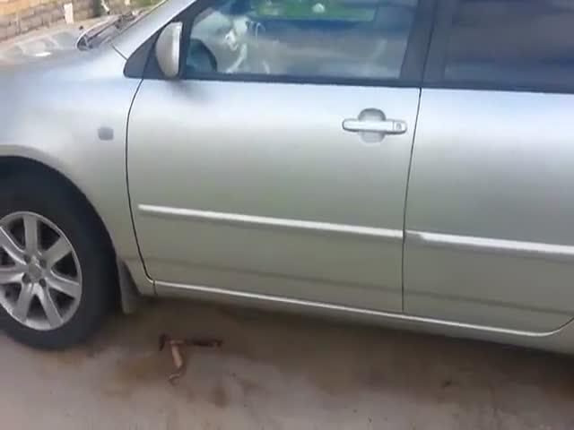 Как открыть Toyota Corolla без ключа