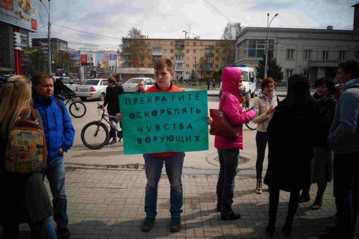 В Новосибирске прошла «Монстрация-2107» (34 фото)