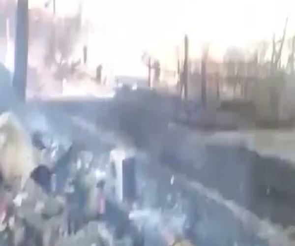 В Иркутской области сгорела деревня Бубновка