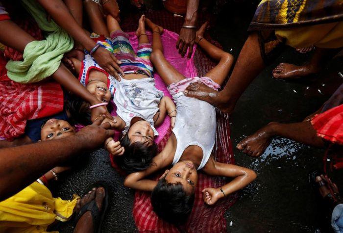 Повседневная жизнь обычных граждан Индии (31 фото)
